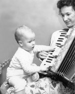 Aunt Dot's accordion